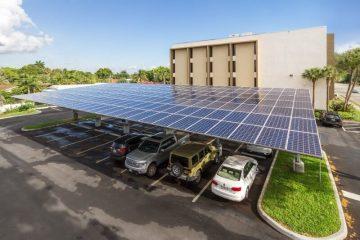 tettoie fotovoltaiche per parcheggi